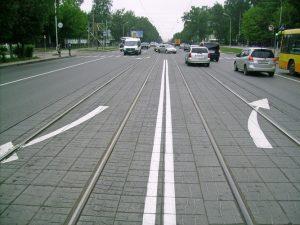 Пересечение двойной сплошной линии