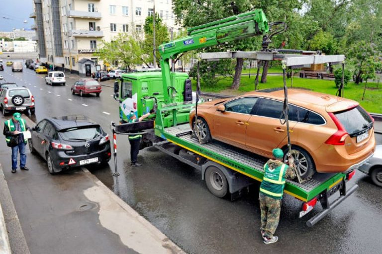 С 1 сентября тарифы на эвакуацию автомобилей изменятся