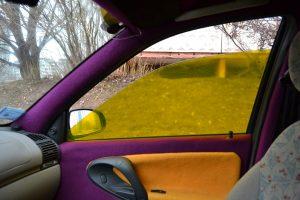 желтая тонировка стекол