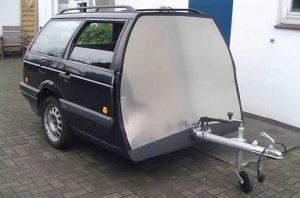 Как оформить прицеп на легковой автомобиль