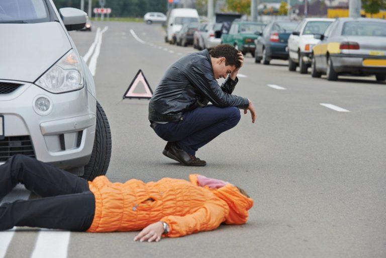 если сбил пешехода на пешеходном переходе наказание примеру