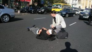 Какое наказание водителю сбившему пешехода на пешеходном переходе