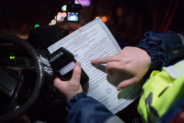 30 водителей лишатся прав за пьяную езду