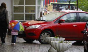 Штраф за неправильную остановку автомобиля