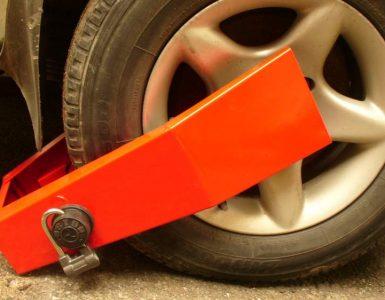 блокиратор колес
