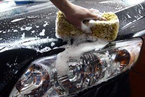 мытье авто в неположенном месте