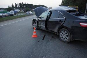 виновник скрылся с места аварии