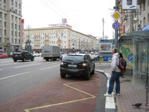 правило парковки автомобиля