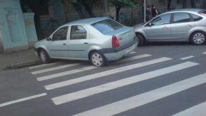 остановка на переходе штраф