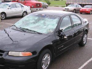 Что делать, если машину побило градом