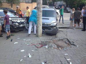 Сбил пешехода на тротуаре: ответственность
