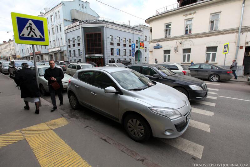 Штраф за неправильную парковку в 2018 году