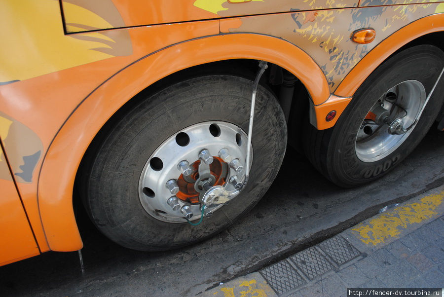 блокиратор колеса