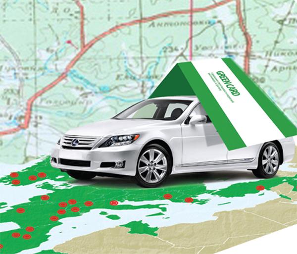 Нужна ли зеленая карта на автомобиль в Белоруссию