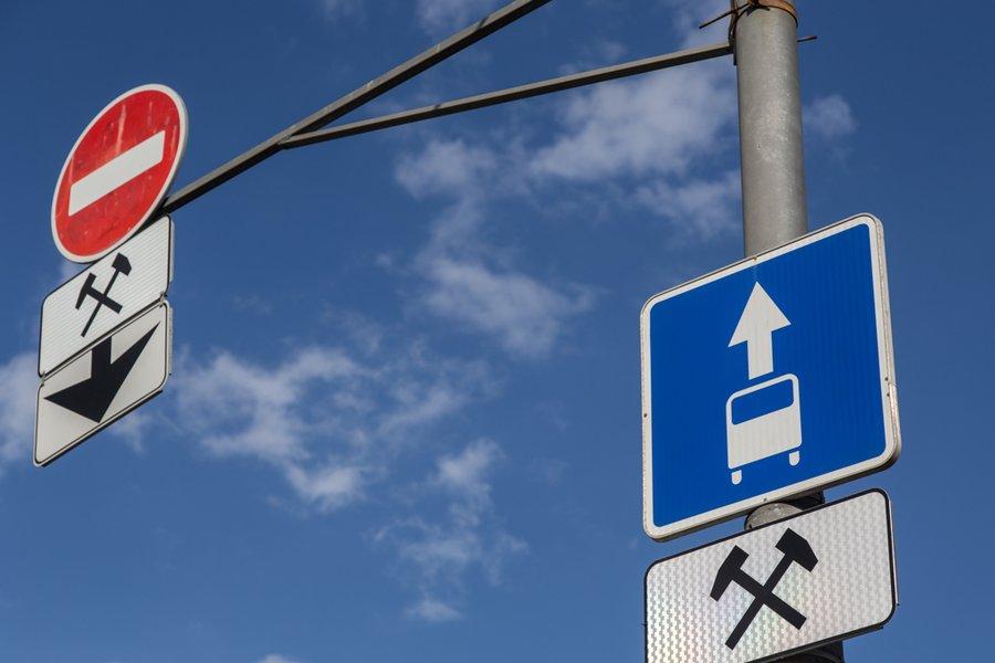 Езда по выделенной полосе в Москве: когда разрешена, а когда нет